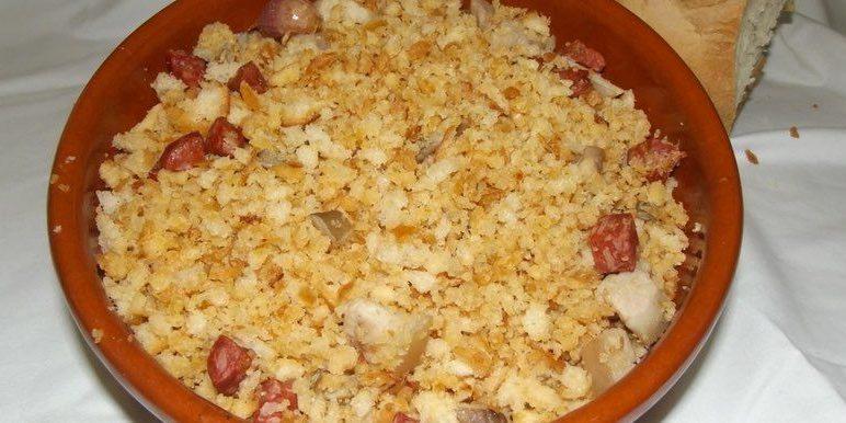 Receta migas del pastor con setas restaurante cobarcho for Como se cocinan las setas