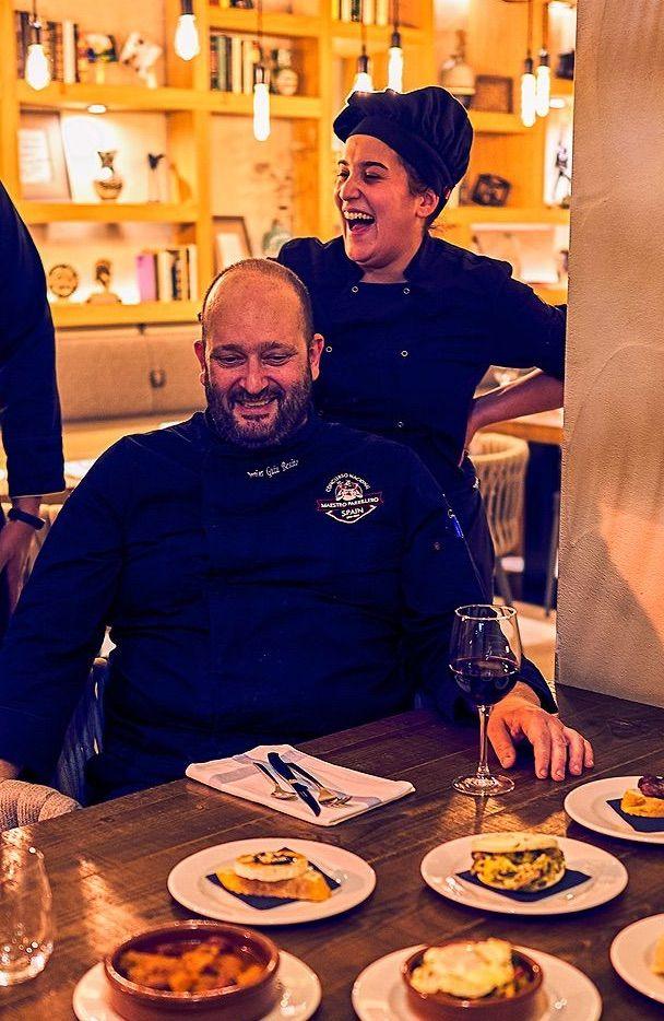 Javier Guiu Chef Cobarcho